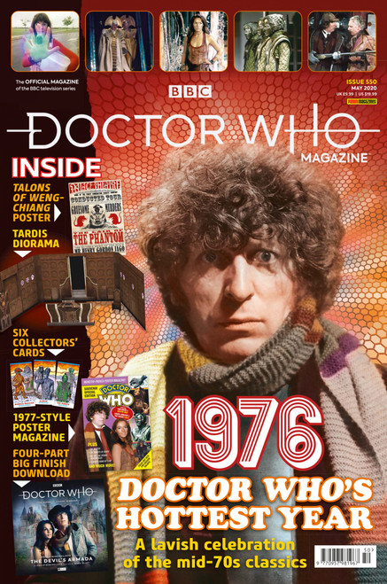 Doctor Who Magazine #550 - Mid-70's Classics with Tom Baker (Poly Bagged) -  LIMIT 1 Per Customer