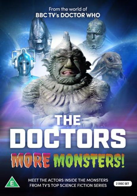 The Doctors - MORE MONSTERS - Reeltime Productions UK Imported DVD