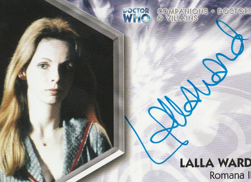 Doctor Who: TRILOGY Autograph Trading Card:  DWT-A2 - LALLA WARD as Romana II