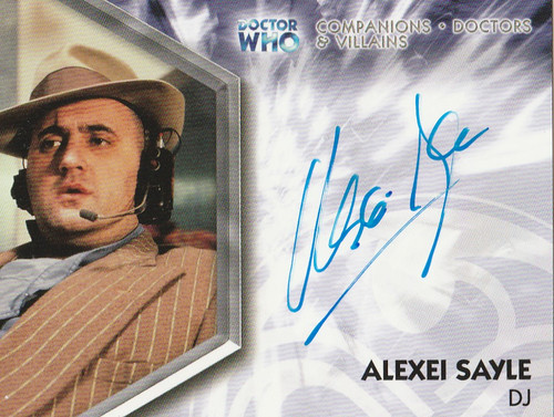 Doctor Who: TRILOGY Autograph Trading Card: DWT-A13 - ALEXEI SAYLE as DJ