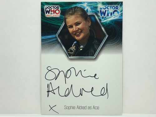 Doctor Who: 40th ANNIVERSARY Autograph Trading Card: WA6 - SOPHIE ALDRED as ACE