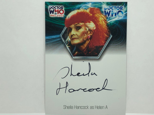 Doctor Who: 40th ANNIVERSARY Autograph Trading Card: WA14 - SHEILA HANDCOCK as Helen A