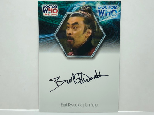 Doctor Who: 40th ANNIVERSARY Autograph Trading Card: WA18 - BERT KWOUK as Lin Futu