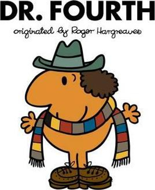 Doctor Who Roger Hargreaves (Mr Men) Book Series: DR. FOURTH