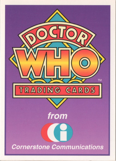 Doctor Who: Cornerstone Series 1 Trading Card PROMO - A1