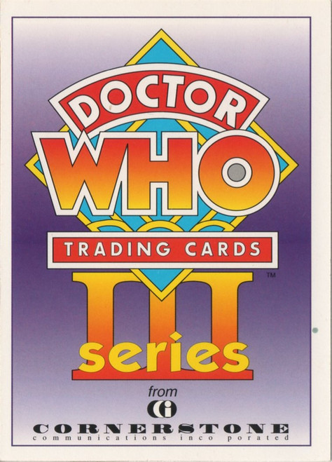 Doctor Who: Cornerstone Series 3 Trading Card PROMO - C1