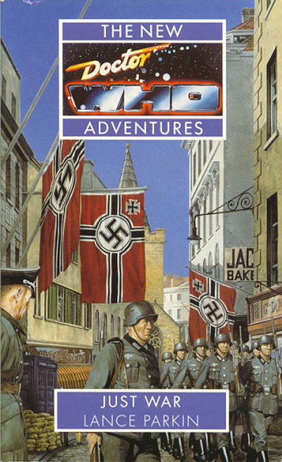 Doctor Who New Adventures Paperback Book - JUST WAR by Lance Parkin