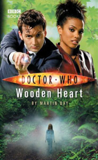 Doctor Who BBC Books New Series Hardcover - WOODEN HEART - 10th Doctor (David Tennant)