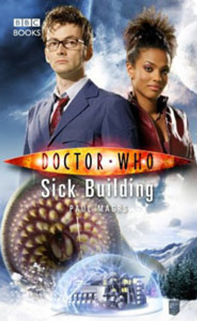 Doctor Who BBC Books New Series Hardcover - SICK BUILDING - 10th Doctor (David Tennant)