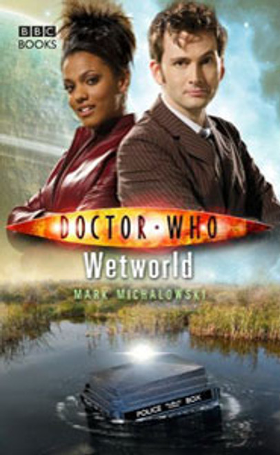 Doctor Who BBC Books New Series Hardcover - WETWORLD - 10th Doctor (David Tennant)