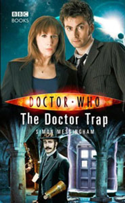 Doctor Who BBC Books New Series Hardcover - THE DOCTOR TRAP - 10th Doctor (David Tennant)
