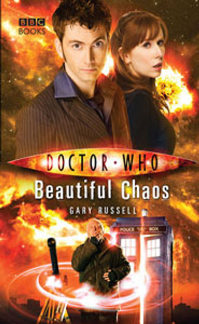 Doctor Who BBC Books New Series Hardcover - BEAUTIFUL CHAOS - 10th Doctor (David Tennant)