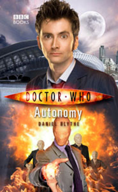 Doctor Who BBC Books New Series Hardcover - AUTONOMY - 10th Doctor (David Tennant)