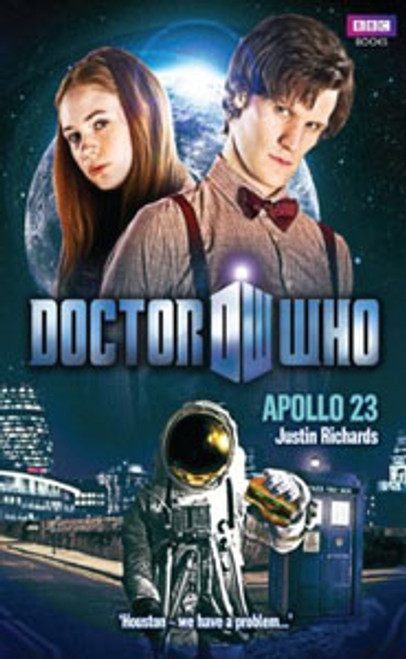 Doctor Who BBC Books New Series Hardcover - APOLLO 23 - 11th Doctor (Matt Smith)