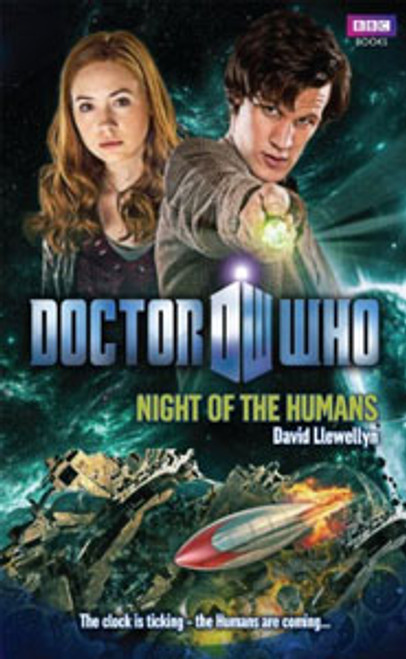 Doctor Who BBC Books New Series Hardcover - NIGHT OF THE HUMANS - 11th Doctor (Matt Smith)