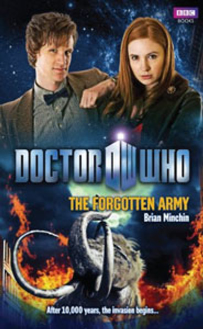 Doctor Who BBC Books New Series Hardcover - THE FORGOTTEN ARMY - 11th Doctor (Matt Smith)
