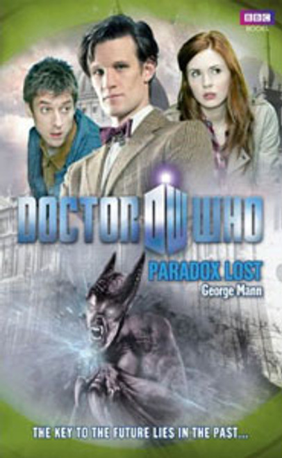 Doctor Who BBC Books New Series Hardcover - PARADOX LOST - 11th Doctor (Matt Smith)