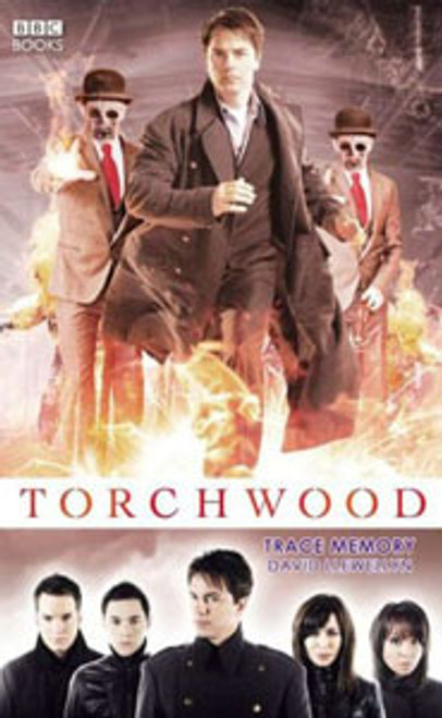 TORCHWOOD BBC Books Series Hardcover - TRACE MEMORY