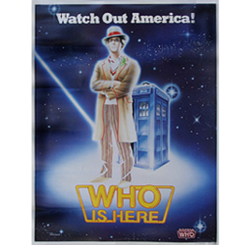 Doctor Who: 5th Doctor - Peter Davison - Vintage Spirit of Light  Poster from 1983
