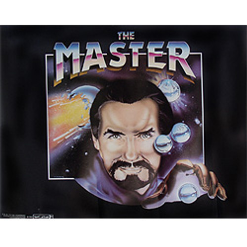 Doctor Who: The Master (Anthony Ainley )- Vintage Spirit of Light  Poster from 1983