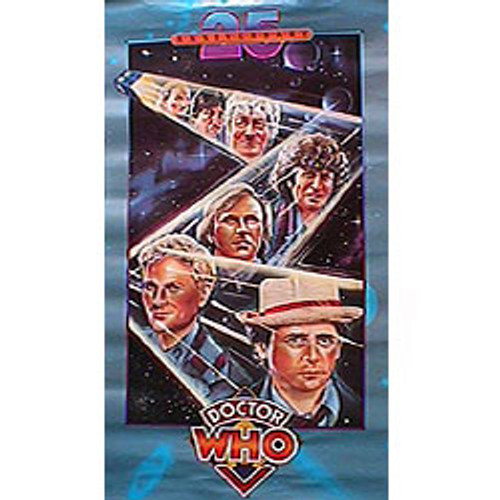 Doctor Who: 25th Anniversary Limited Edition Poster from 1988