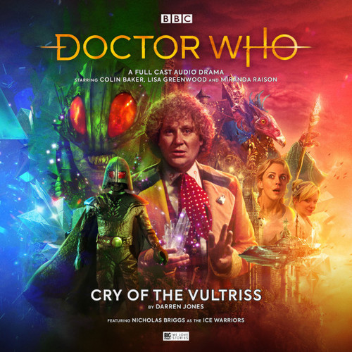 Doctor Who: CRY OF THE VULTRISS - Big Finish 6th Doctor Audio CD #263
