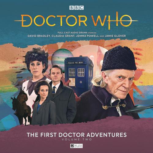 Doctor Who: The First Doctor Adventures (David Bradley) - Volume 2 (Big Finish Audio Box Set)