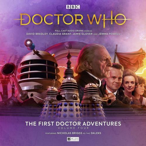 Doctor Who: The First Doctor Adventures (David Bradley) - Volume 4 (Big Finish Audio Box Set)