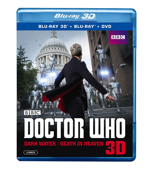 Doctor Who DARK WATER/DEATH IN HEAVEN - 3D BLU-RAY & DVD Set  - Starring Peter Capaldi as the Doctor