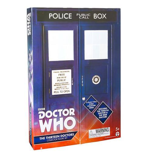 Doctor Who: Thirteen Doctors Action Figure Set - Character Options (13 Figures)