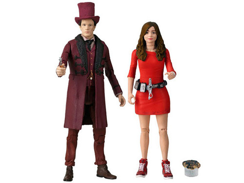 Doctor Who: The IMPOSSIBLE SET - 11th Doctor and Oswin Action Figure Set - Character Options