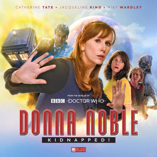 DONNA NOBLE (Catherine Tate) - KIDNAPPED - Big Finish Audio Drama Boxed Set on 5 CDs from the Worlds of Doctor Who