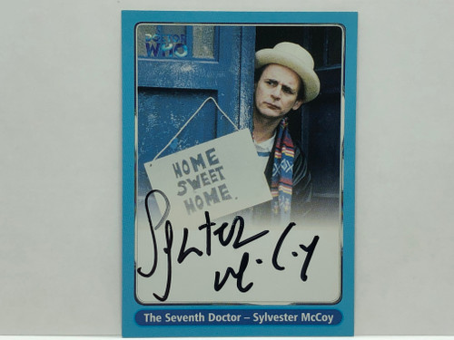 Doctor Who: SERIES 1 Autograph Trading Card: A4 - SYLVESTER McCOY as the Seventh (7th) Doctor
