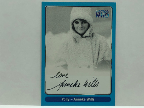 Doctor Who: SERIES 1 Autograph Trading Card: A6 - ANNEKE WILLS as Polly