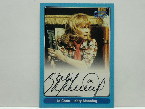 Doctor Who: SERIES 1 Autograph Trading Card: A11 - KATY MANNING as Jo Grant