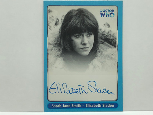 Doctor Who: SERIES 1 Autograph Trading Card: A12 - ELISABETH SLADEN as Sarah Jane Smith