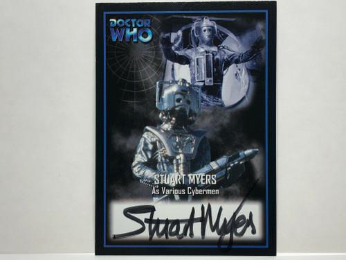 Doctor Who: SERIES 2 Autograph Trading Card: AU-3 - STUART MYERS as Various Cybermen