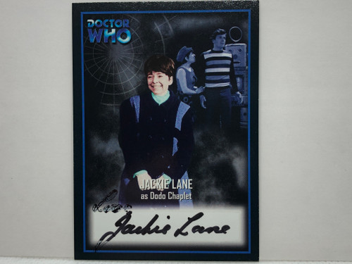 Doctor Who: SERIES 2 Autograph Trading Card: AU-5 - JACKIE LANE as Dodo Chaplet