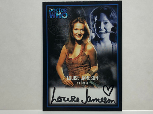 Doctor Who: SERIES 2 Autograph Trading Card: AU-7 - LOUISE JAMESON as Leela