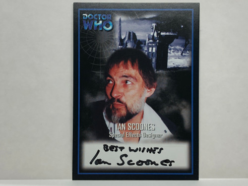 Doctor Who: SERIES 2 Autograph Trading Card: AU-12 - IAN SCOONES - Special Effects Designer