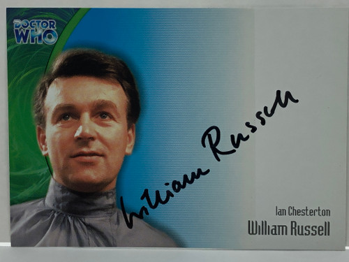 Doctor Who: SERIES 3 Autograph Trading Card: AU-7 - WILLIAM RUSSELL as Ian Chesterton