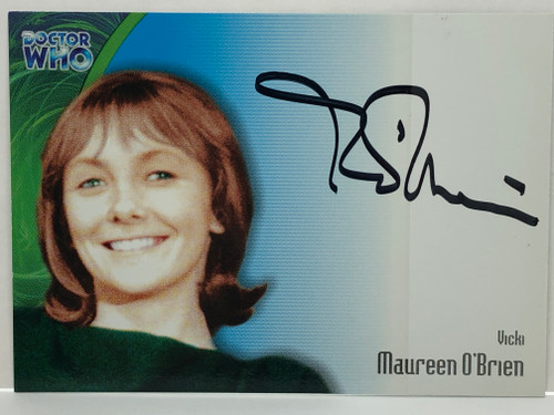 Doctor Who: SERIES 3 Autograph Trading Card: AU-10 - MAUREEN O'BRIEN as Vicki