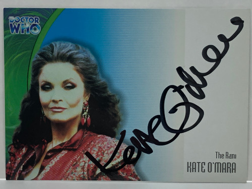Doctor Who: SERIES 3 Autograph Trading Card: AU-15 - KATE O'MARA as The Rani