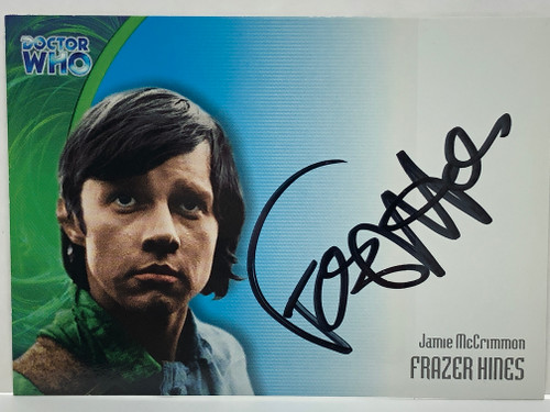 Doctor Who: SERIES 3 Autograph Trading Card: AU-16 - FRAZER HINES as Jamie McCrimmon