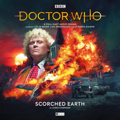 Doctor Who: SCORCHED EARTH - Big Finish 6th Doctor Audio CD #264