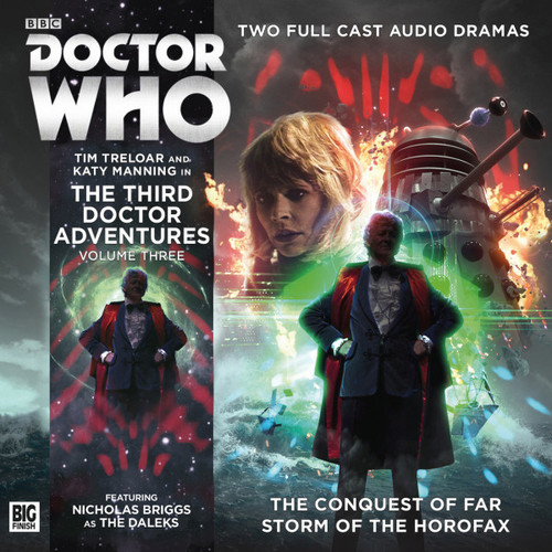 Doctor Who: Third Doctor Adventures Volume 3 - Big Finish Audio CD