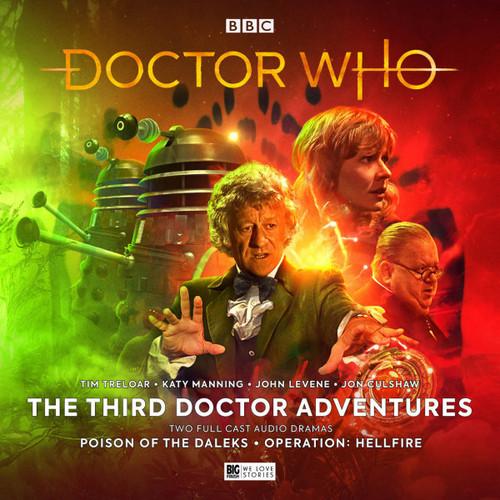 Doctor Who: Third Doctor Adventures Volume 6 - Big Finish Audio CD