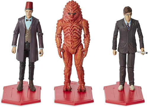Doctor Who: DAY OF THE DOCTOR - Special 3.75 Inch Action Figure 3 Pack - Character Options