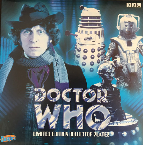 """Doctor Who: DAVROS - UK Exclusive Bone China 8"""" Collector's Plate"""