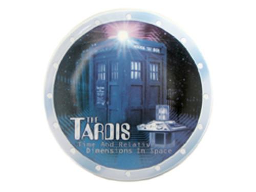 "Doctor Who: TARDIS - UK Exclusive Bone China 8"" Collector's Plate (Doctor Who Store.Com Exclusive)"